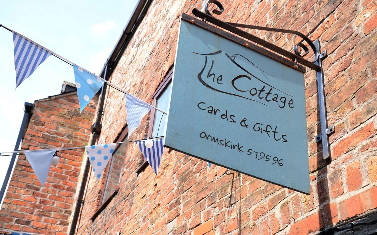 'The Cottage' Shop Sign