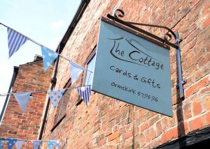 'The Cottage' Shop Sign