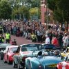 Crowds at Ormskirk MotorFest Parade