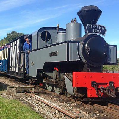 A Light Rail Engine in West Lancashire