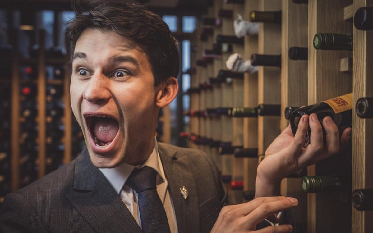 Alex, the head sommelier at Moor Hall in Aughton
