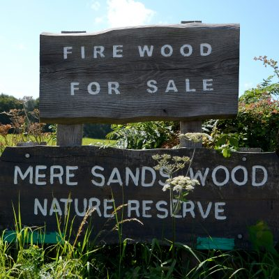 Mere Sand Wood Sign