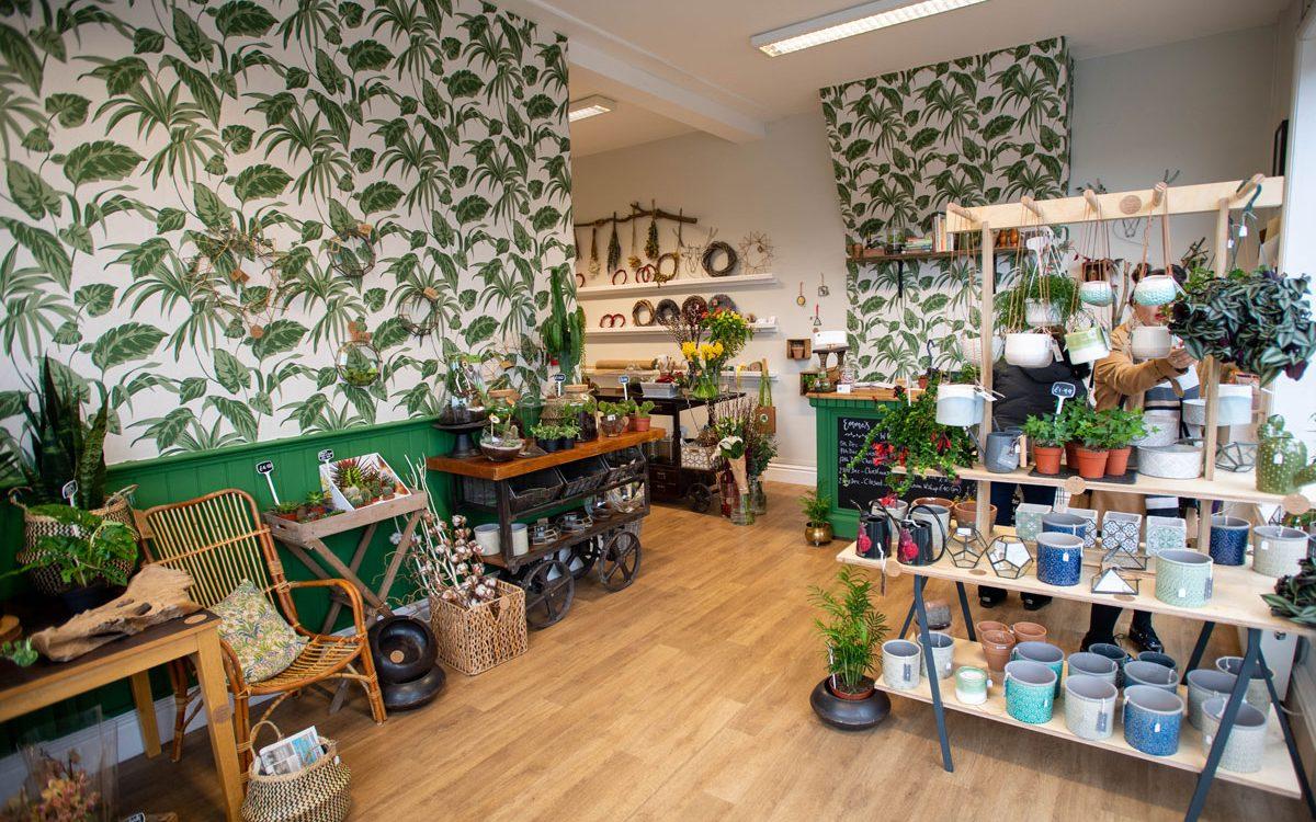 The interior of Emma's Wild Garden shop