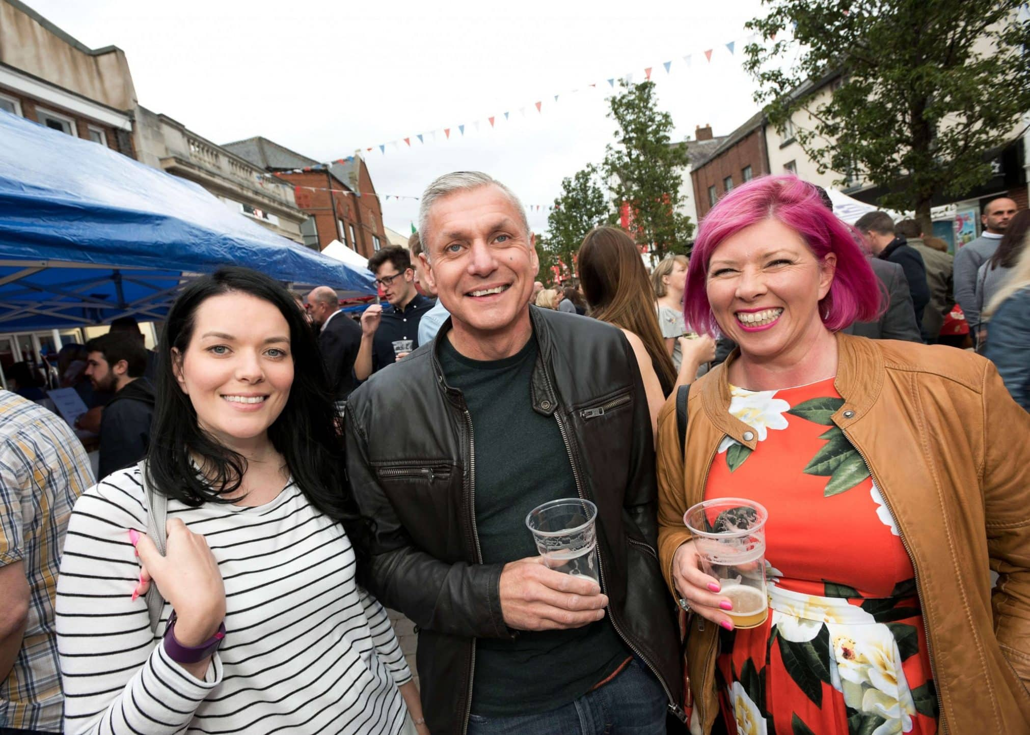 Louise, Carl and Donna visit Moor St Night Market