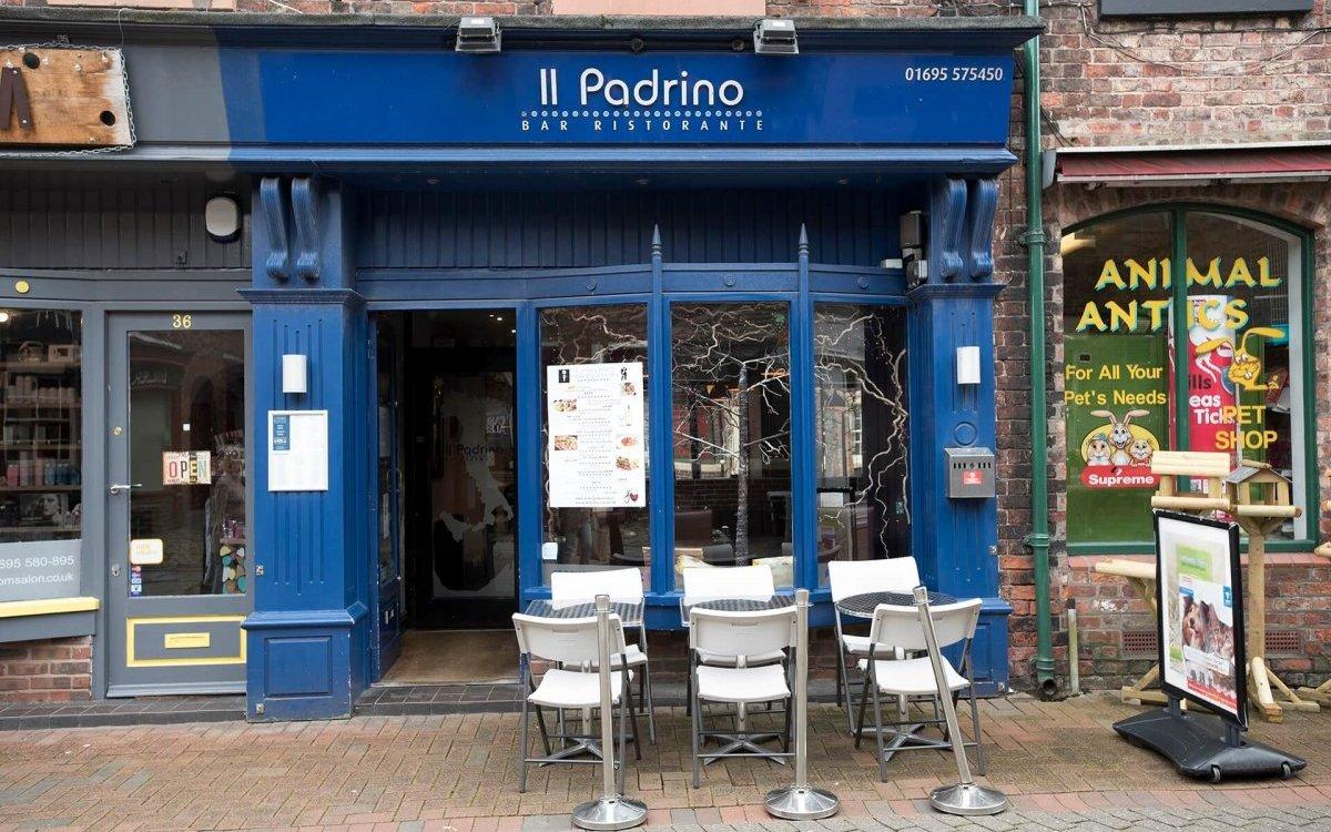 Outside image of ll Padrino