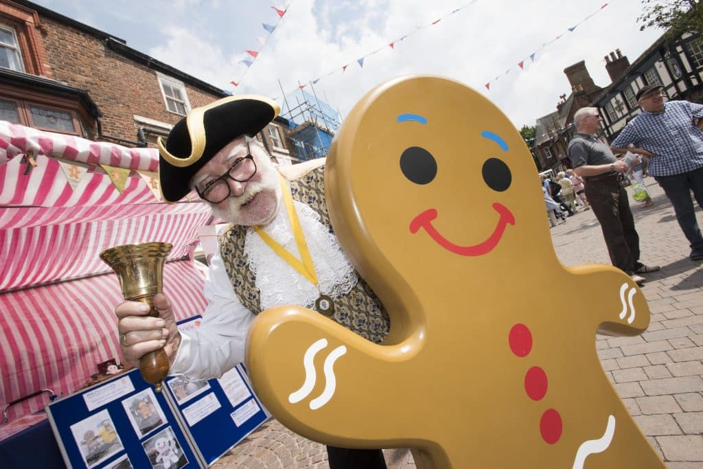 Ormskirk Town Crier and Gingerbread