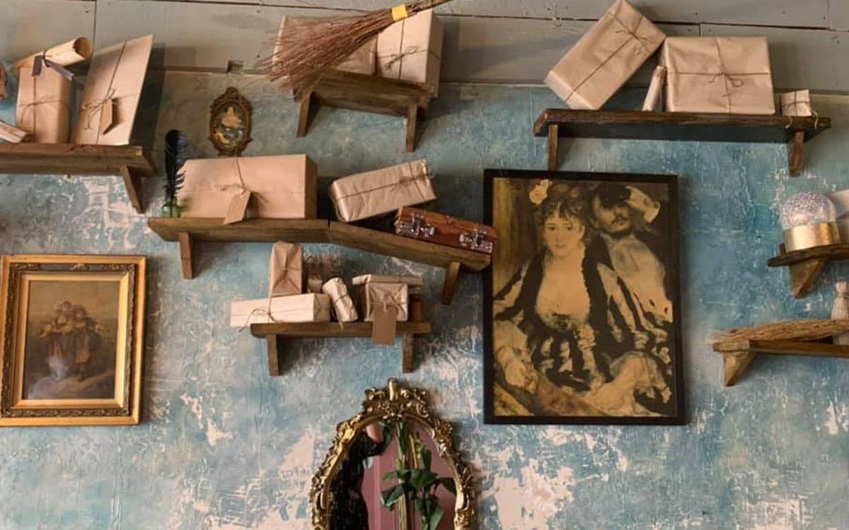 Mandrakes Cafe Wall
