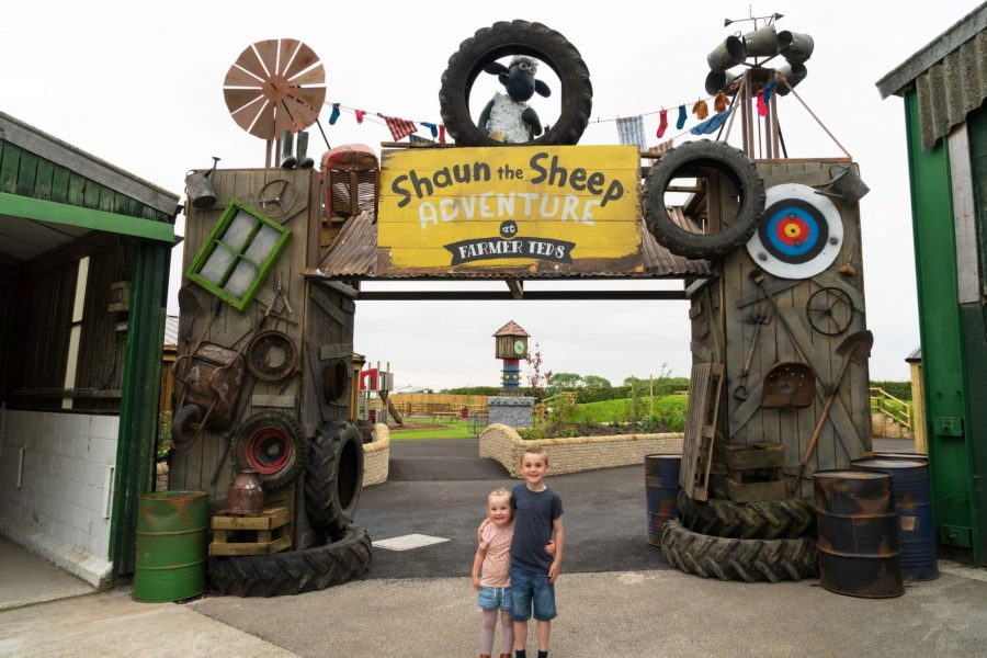 Farmer Ted's Adventure Farm Welcomes Shaun the Sheep and Friends