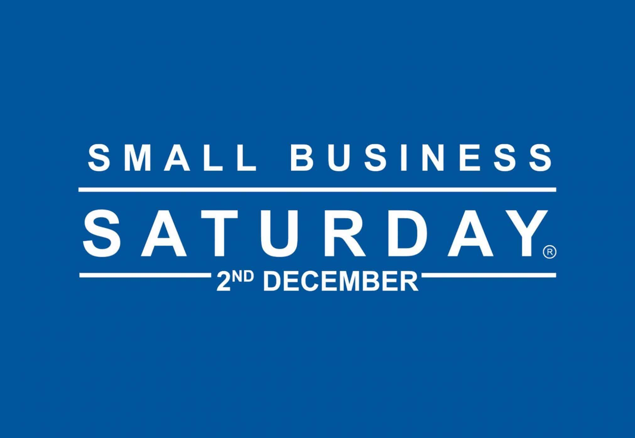 Small Business Saturday – 2nd December