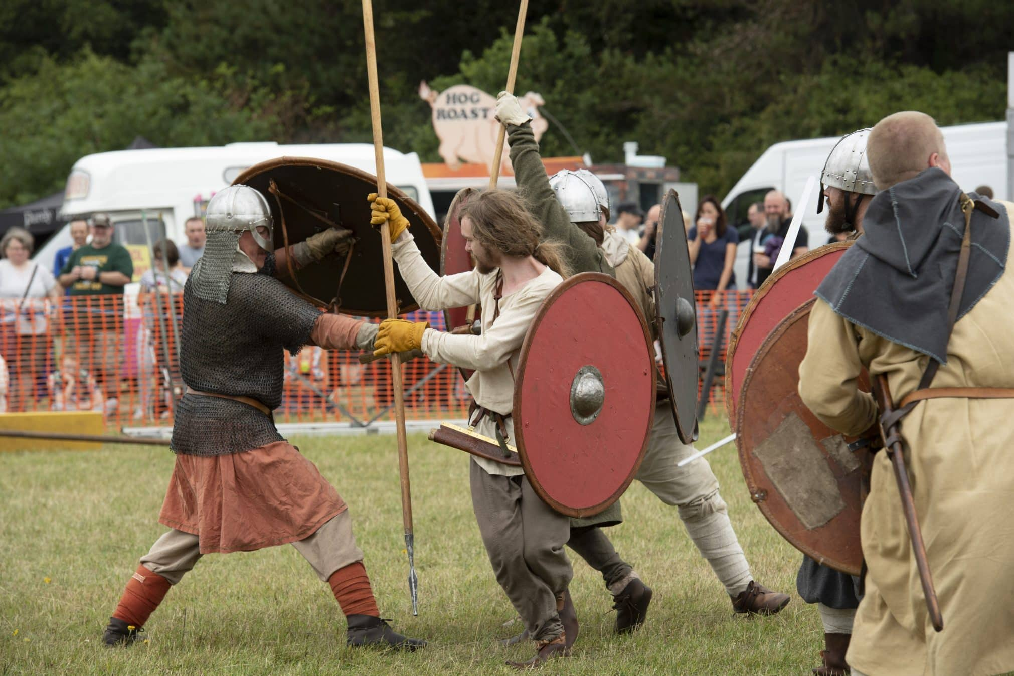 The Viking Battle at Green Fayre, Beacon Country Park