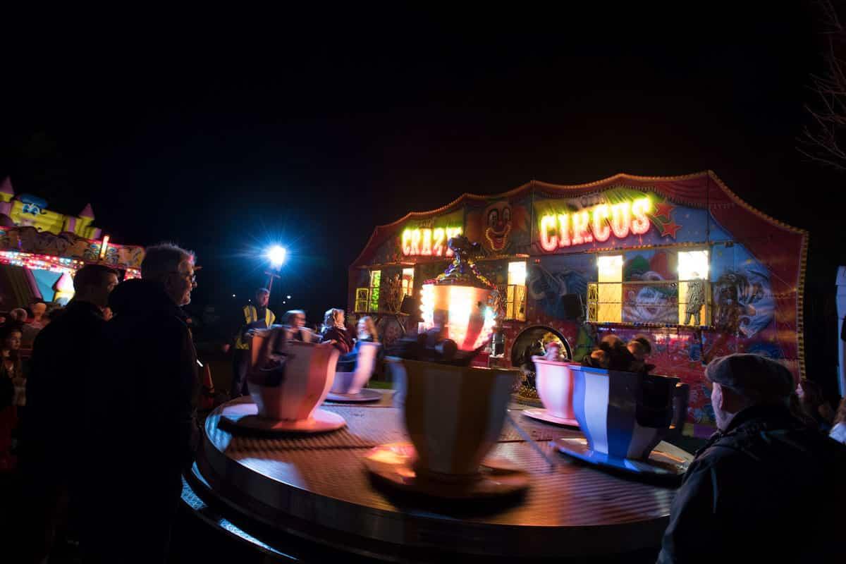 Tea Cup Fairground ride
