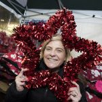 Joanne at Ormskirk Christmas Lights Switch On
